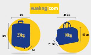 bagages autorisés vueling