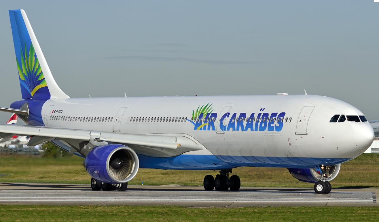 Avion de la compagnie aérienne Air Caraïbes