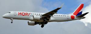 Avion de la compagnie aérienne Hop