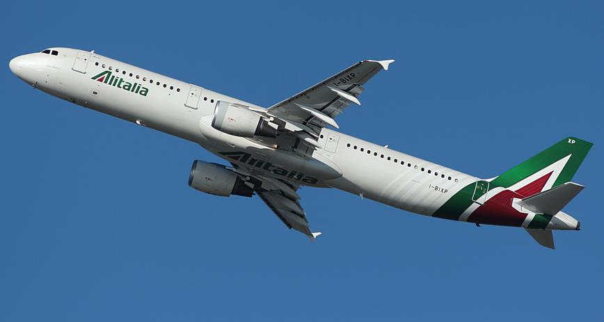 avion alitalia