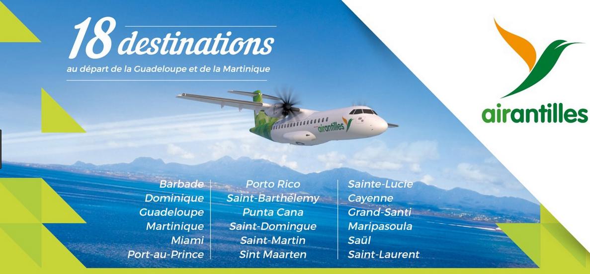 destination air antilles