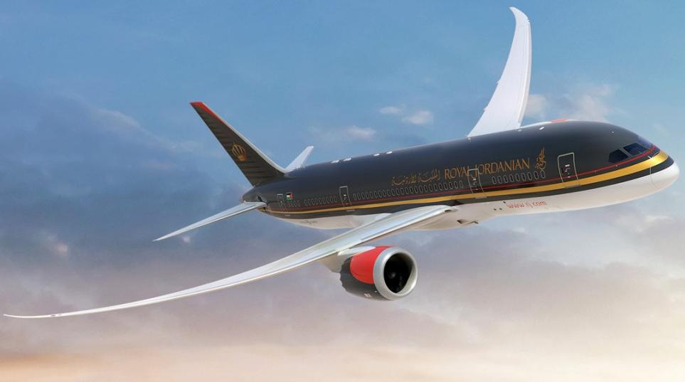 avion jordanian airlines