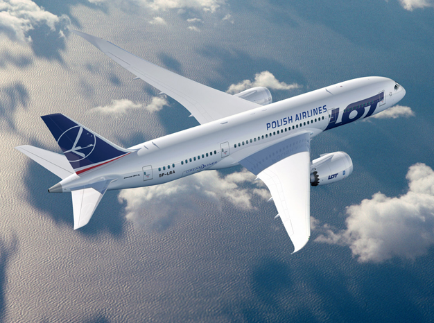 avion lot polish airlines