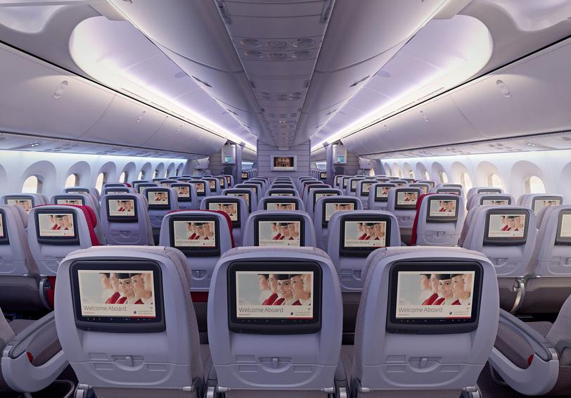 classe économique jordanian airlines