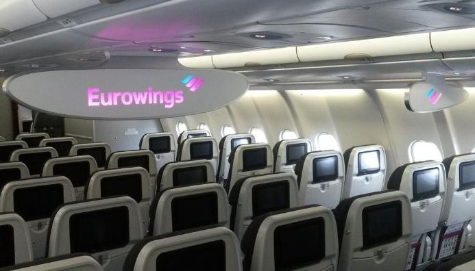 intérieur cabine eurowings