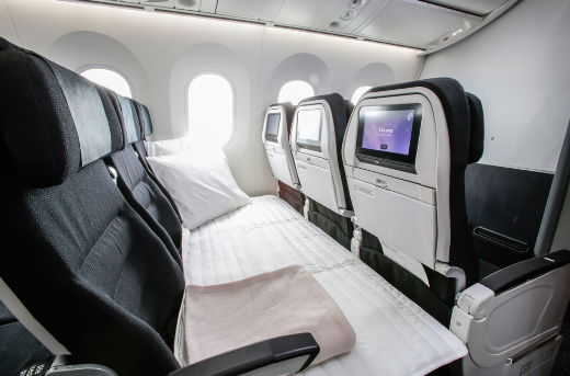 intérieur cabine air new zealand