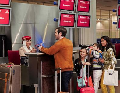 Embarquement Emirates
