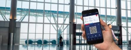 Enregistrement mobile Delta Airlines