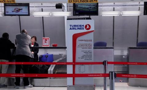 Enregistrement turkish airlines