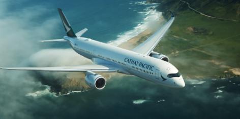 Avion Cathay Pacific