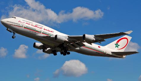 Avion Royal Air Maroc