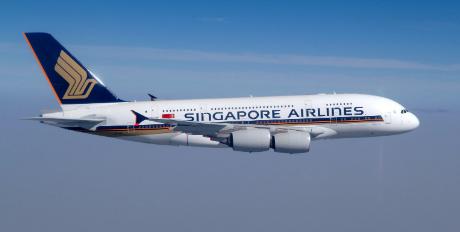 Avion Singapore Airlines