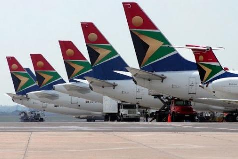 Avion South African Airways